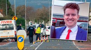 Robert McLoughlin (29) died when he was hit on the old Newry Road in Dundalk, Co Louth, in the early hours of Saturday.