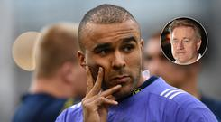 Eddie O'Sullivan doesn't think Simon Zebo's decision to move away should end his involvement with Ireland