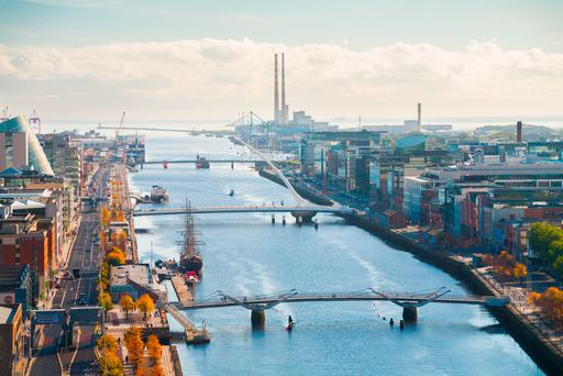 Stock picture: Dublin's docklands