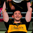 Dr Crokes captain Daithi Casey feels a weight has been lifted off their shoulders with their successful defence of the Bishop Moynihan Cup. Photo by Brendan Moran/Sportsfile