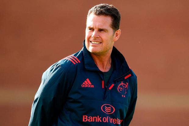 Munster' Rassie Erasmus. Photo: Diarmuid Greene/Sportsfile