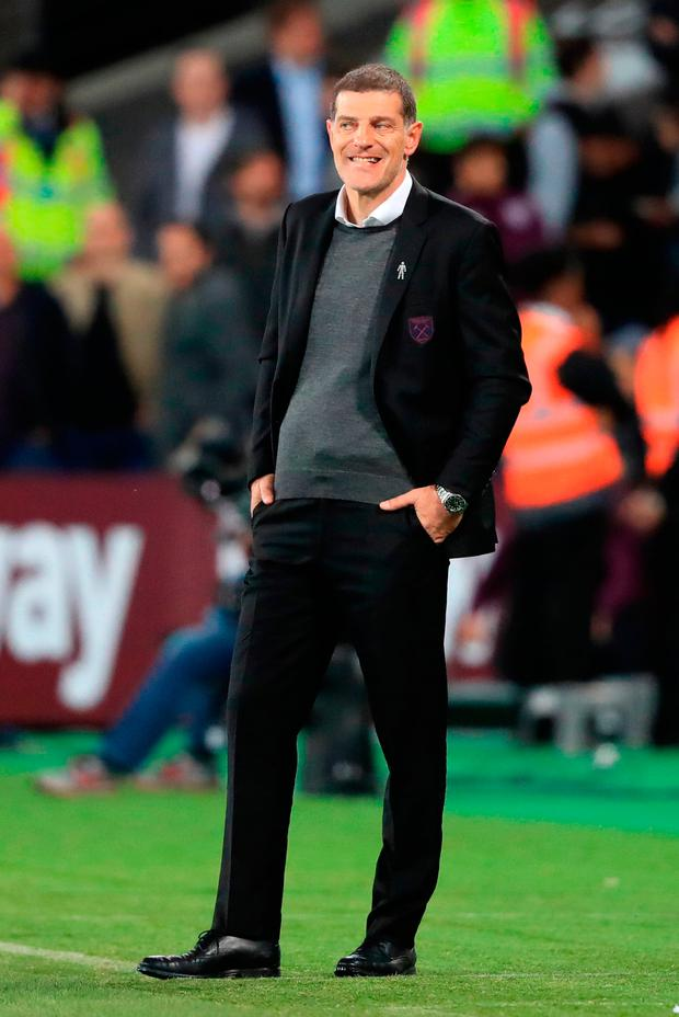 The chances of Bilic being West Ham manager next season are slim. Photo credit: Adam Davy/PA Wire.