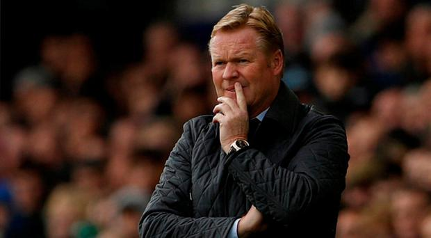 Dejected Koeman yet to recover from Everton sacking