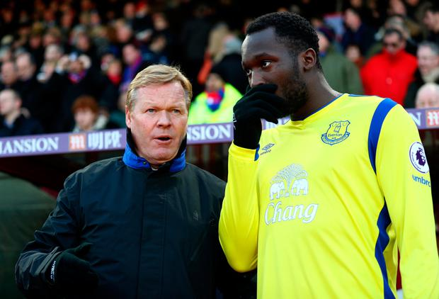 Romelu Lukaku's departure from Goodison has hastened the exit of Ronald Koeman from the Everton hotseat. Photo by Ian Walton/Getty Images