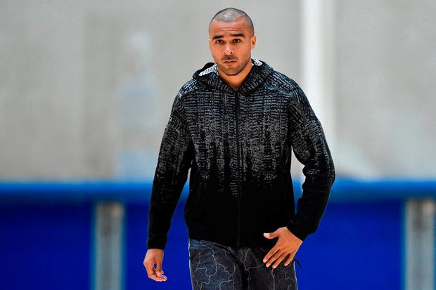 Simon Zebo pictured during Munster training at the University of Limerick. Photo: Diarmuid Greene/Sportsfile