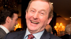 Former taoiseach Enda Kenny. Photo: Michael McLaughlin