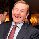 Former taoiseach Enda Kenny Photo: Michael McLaughlin