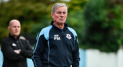 Pete Mahon's team hadn't won since a 2-0 win at Finn Park in April. Photo by David Maher/Sportsfile