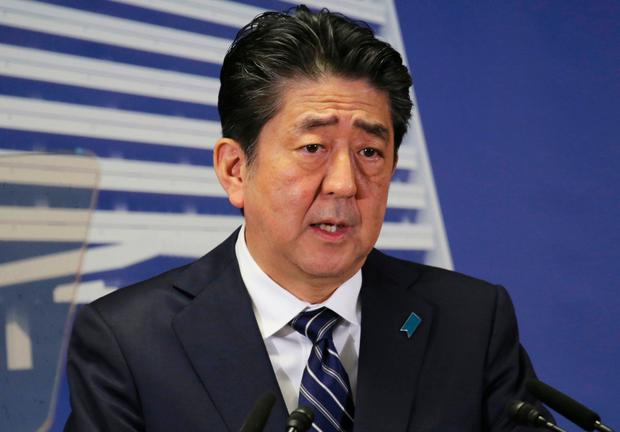 Shinzo Abe: 'Strong diplomacy' Image: AP Photo/Koji Sasahara