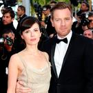 Eve Mavraki and actor Ewan McGregor attend the