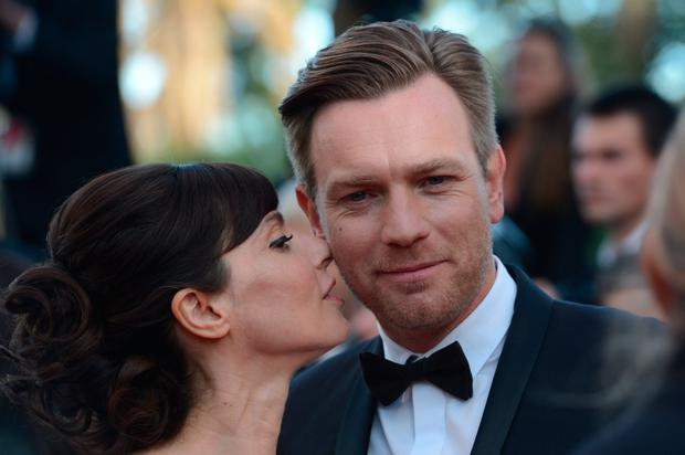 Member of the jury, British actor Ewan Mc Gregor and his wife Eve Mavrakis arrive for the screening of