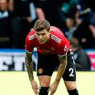 Manchester United's Victor Lindelof