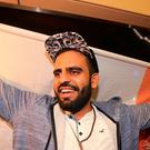 Ibrahim Halawa at Dublin airport. Credit: Gerry Mooney