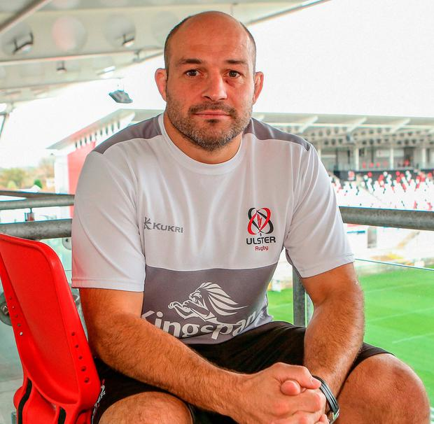 Ulster's Rory Best. Photo by John Dickson/Sportsfile