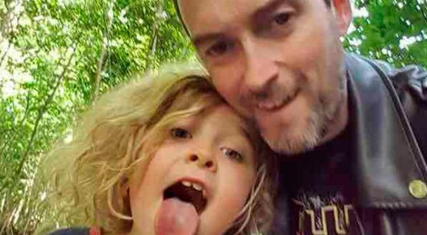 Rob Laffan (pictured with his daughter Sadie) is known as a