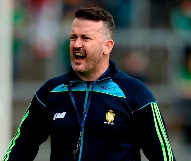 Donal Óg Cusack has resigned as Clare hurling coach. Photo by Diarmuid Greene/Sportsfile