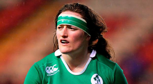 Former prop Ailis Egan fears other countries are moving ahead of Ireland when it comes to preparation due to the resources being put at their disposal. Photo by Brendan Moran/Sportsfile