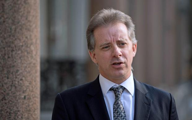Christopher Steele, the former MI6 agent who set-up Orbis Business Intelligence and compiled a dossier on Donald Trump Credit: PA