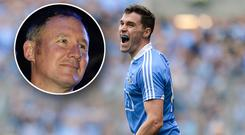 Paddy Andrews believes Jim Gavin (inset) has been unfairly treated