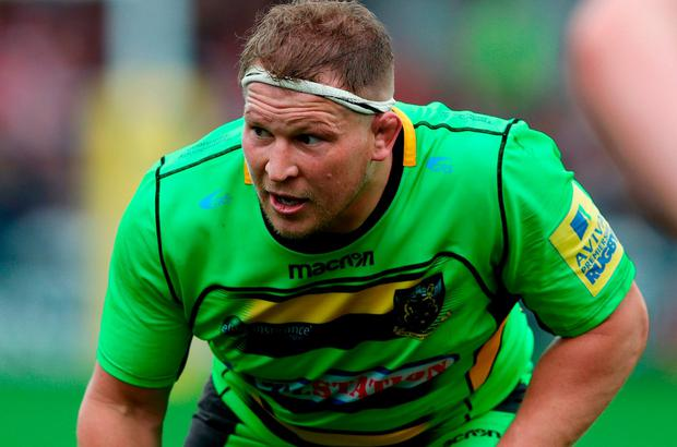 Northampton Saints Dylan Hartley