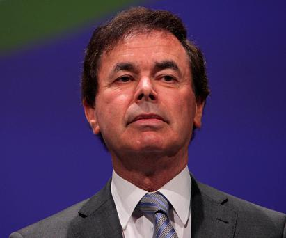 Alan Shatter has been likened to Darth Vader. Photo: Damien Eagers / Irish Independent