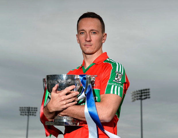 Ballymun Kickhams forward Kevin Leahy whose side face reigning Dublin and Leinster champions, St Vincent's, in Monday's Dublin SFC final at Parnell Park when they will challenge for the Clery Cup. Photo: Sportsfile