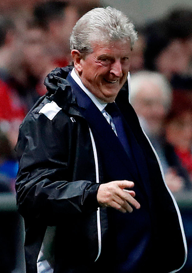 Crystal Palace manager Roy Hodgson. Photo: Reuters