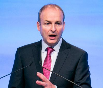 Micheál Martin said the conclusions were reasonable. Photo: Kyran O'Brien