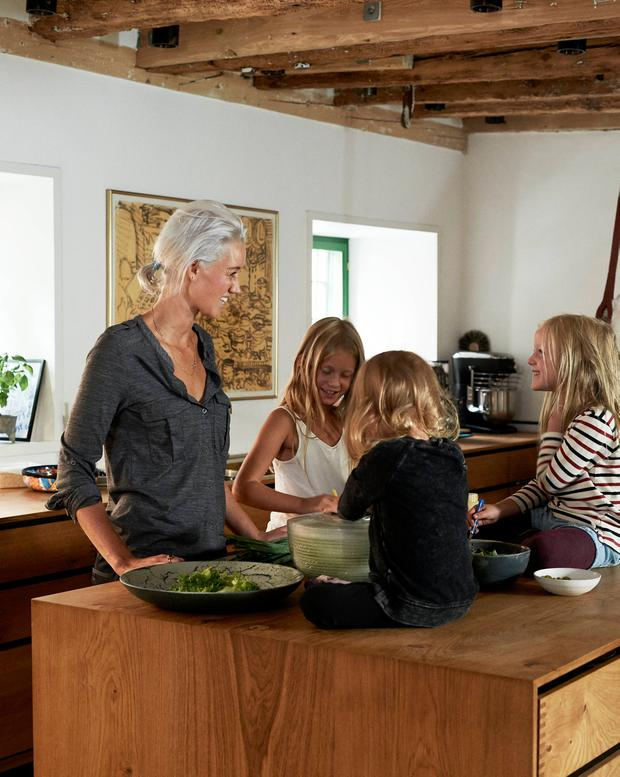 Family focus: Nadine Levy Redzepi loves cooking for her three daughters. Photo: Ditte Isager