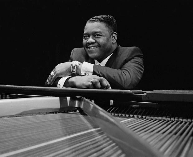 American pianist and singer-songwriter Fats Domino. Photo by Clive Limpkin/Daily Express/Hulton Archive/Getty Images