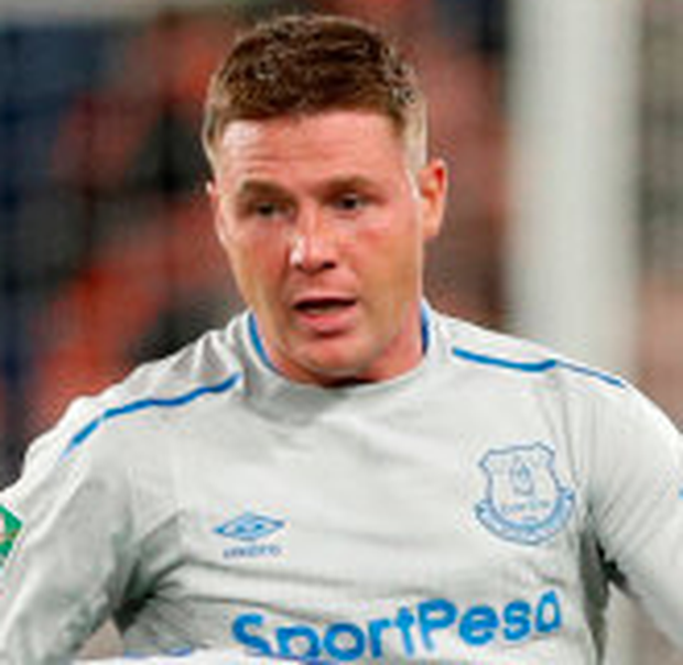 Everton's Irish midfielder James McCarthy. Photo: Reuters