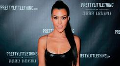 Kourtney Kardashian attends the launch of PrettyLittleThing by Kourtney Kardashian on October 25, 2017 in Los Angeles, California. (Photo by Rich Fury/Getty Images)