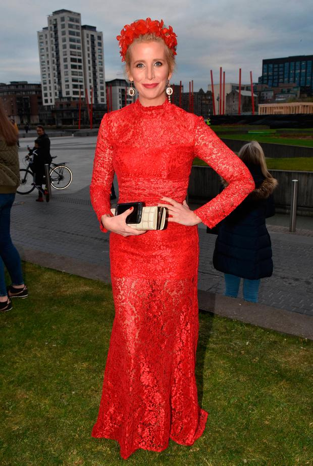 Aisling O'Loughlin at the Peter Mark VIP Style Awards 2017