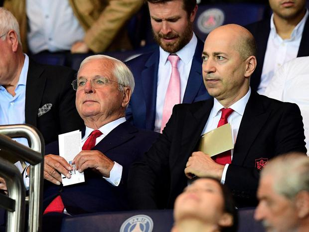 Chips Keswick has attempted to defend the bonus paid to Ivan Gazidis AFP