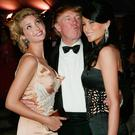 Ivanka, Donald and Melania Trump at the Met Gala in 2004