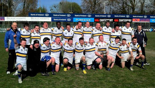 Guinness team celebrating winning the Winters Cup