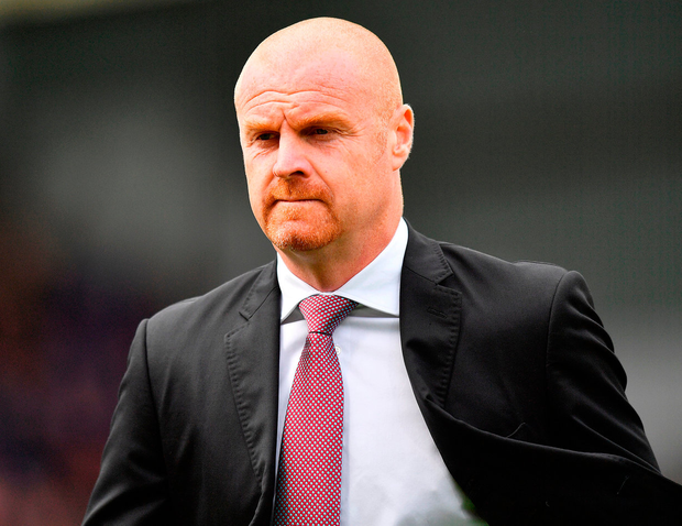 'Dyche celebrates five years in charge of Burnley next week and his work in winning them two promotions and keeping them in the Premier League last term has earned acclaim.' Photo: PA Wire