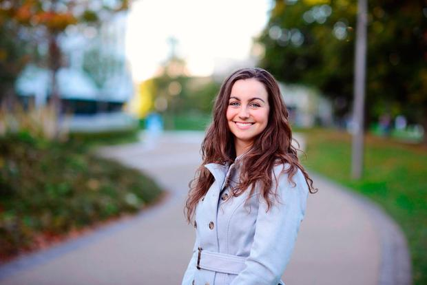 Katie Ascough, the president of UCD's student union