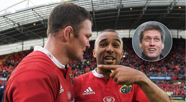 Simon Zebo may be joining Donnacha Ryan and Ronan O'Gara in Paris next year