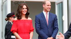 Prince William, Duke of Cambridge and Catherine, Duchess of Cambridge attend The Queen's Birthday Party at the British Ambassadorial Residence during an official visit to Poland and Germany on July 19, 2017 in Berlin, Germany. (Photo by Chris Jackson - Pool/Getty Images)
