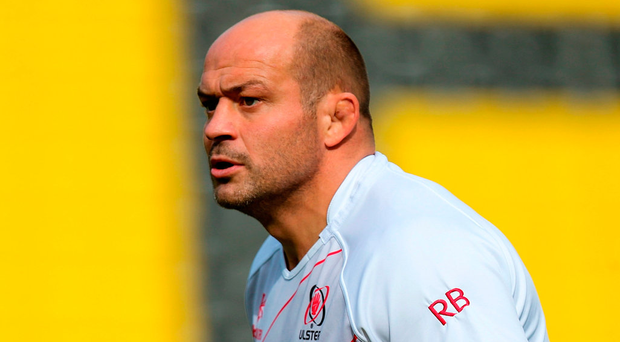 Rory Best earns his 200th cap for Ulster against Leinster tonight. Photo: John Dickson/Sportsfile