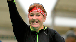 Mary Nolan-Hickey the only woman to complete all previous Dublin marathons has pulled out of this year's race at the 11th hour. Photo: Pat Murphy/Sportsfile