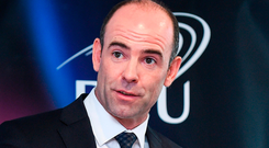 """GPA chief executive Dermot Earley believes that voting in the 'Super 8' was a """"slap in the face"""" for players. Photo: Matt Browne/Sportsfile"""