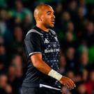 Simon Zebo during last night's Guinness PRO14 match between Connacht and Munster at the Sportsground in Galway. Photo: Ramsey Cardy/Sportsfile