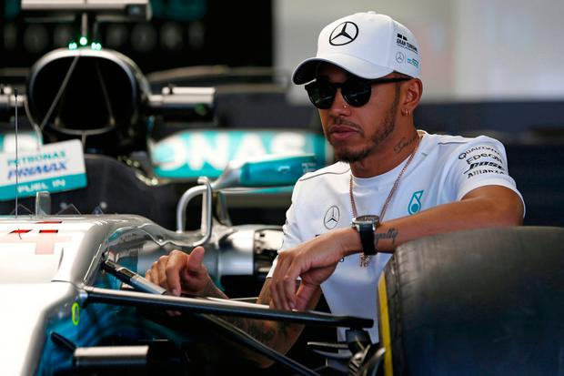 "Hamilton: ""I expect this weekend to be more fun than it has in the past."" Image: AP Photo/Moises Castillo"