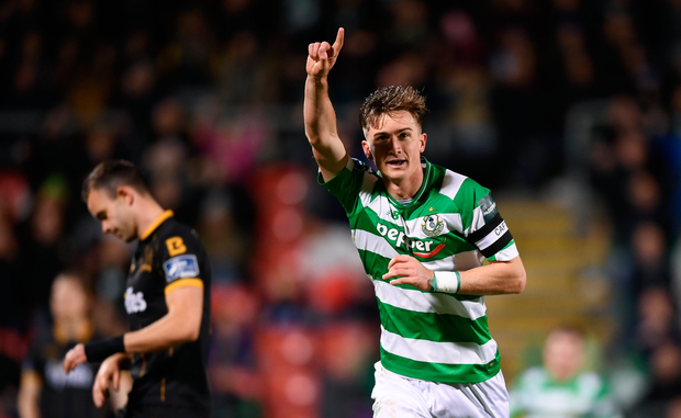 Finn's superb individual effort wrapped up their 17th league win of the season. Photo by Stephen McCarthy/Sportsfile