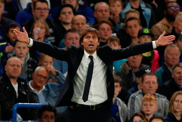 Chelsea manager Antonio Conte. Photo: Reuters/John Sibley
