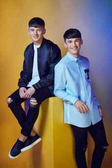 Sean and Conor have had their style makeover ahead of the live shows