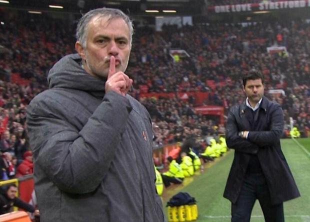 Jose Mourinho makes a point as Man United edge past Spurs