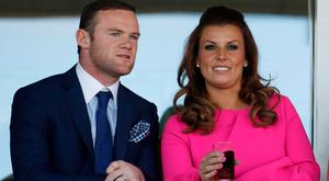 Football superstar Wayne Rooney was sent a terse birthday message from long-suffering wife Coleen. Photo: Getty
